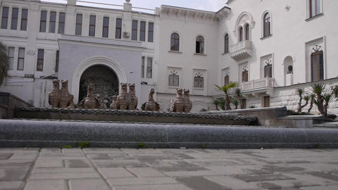 Gryphons Fountain in Sukhumi 3 Live Action