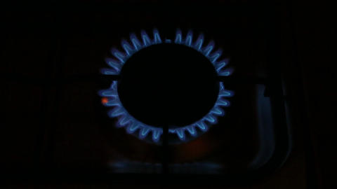 Gas burner ignitions Footage