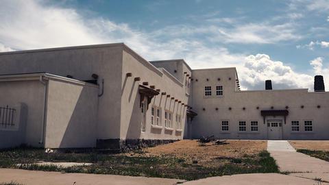 (Timelapse) Adobe Building Southwestern USA Footage