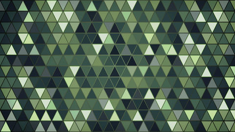dark green triangles pattern seamless loop background 4k (4096x2304) Animation