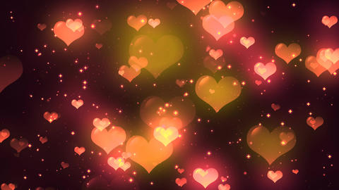 Hearts Background 2 Animation
