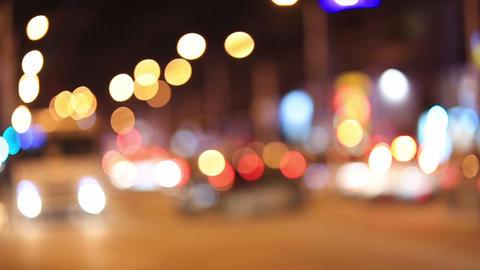 Night City Traffic Footage