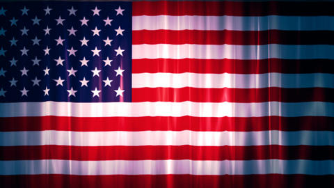 United states of America Flag 1 Animation