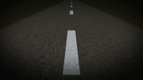 road 4k 2 Animation