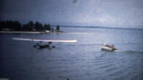 (8mm Vintage) Rare Boatplane Showcase Footage