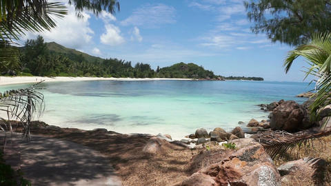 seychelles beach Stock Video Footage