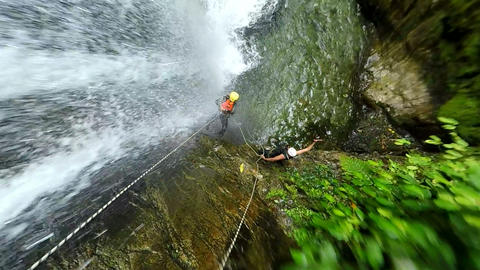 Adventurer Canyoning Footage