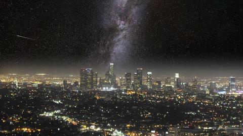 Meet The Milky Way In LA (black) Animation