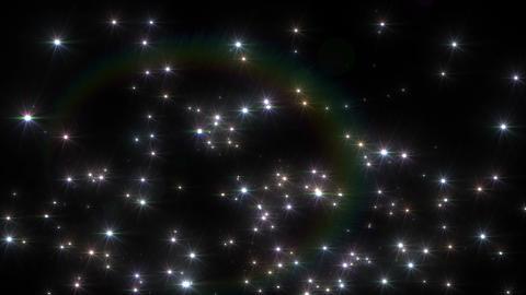 Star Particle B fountain A 4 K CG動画