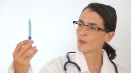 Medical Confusion Concept Delivered In Form Of Doctor In Dilemma stock footage