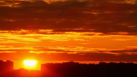 Sunrise stock footage