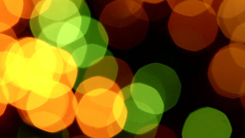 Holiday bokeh lights background Footage