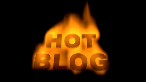 Hot blog Animation