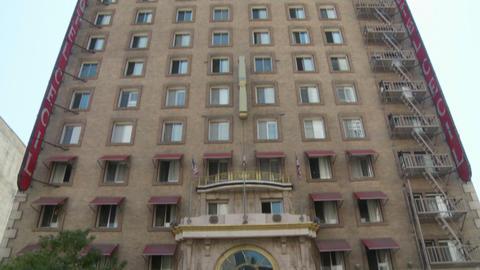 Cecil Hotel Building Footage