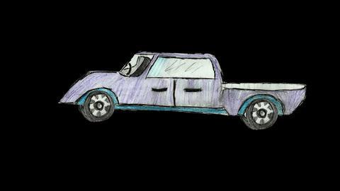 Car animation loop alpha Animation