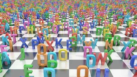 Endless alphabet letters Animation