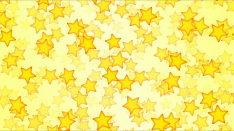 Falling Stars Animation - Loop Yellow Animation