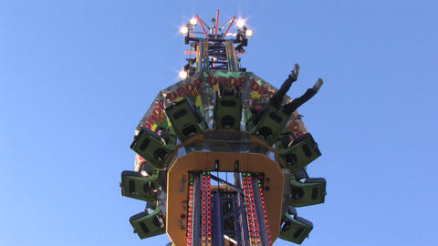 Carnival Rides Footage