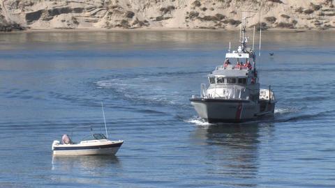 Coast Guard Ship Stock Video Footage