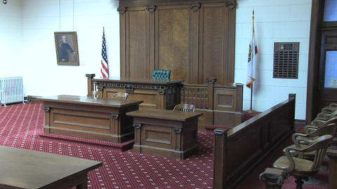 Courtroom Stock Video Footage