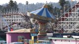 Amusement Park Rides stock footage