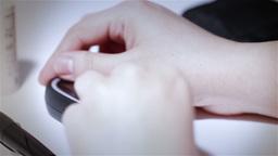 Preparing Blood Glucose Test 09 stylized Stock Video Footage