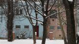 Snowy Suburb 06 Footage