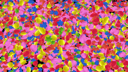 confetti fall Stock Video Footage