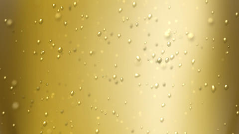 champagne bubbles focus Stock Video Footage