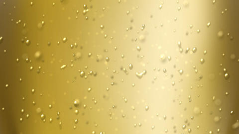 champagne bubbles focus Animation