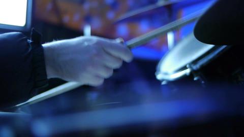 Drum Kit CU 03 Stock Video Footage