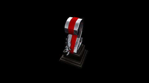 Number Trophy Prize Cb HD Animation