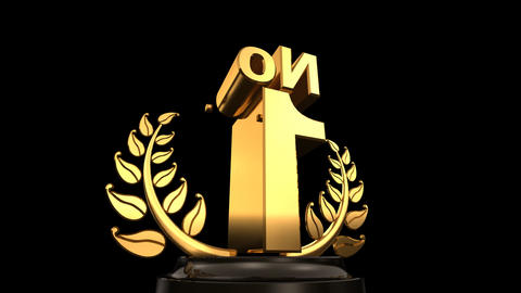 Number Trophy Prize No E HD Animation