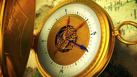 Compass, Stock Animation