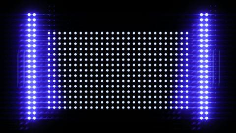 Shiny light wall Stock Video Footage
