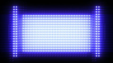 Shiny light wall Animation