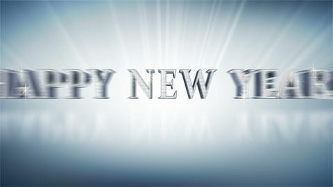 HAPPY NEW YEAR! Stock Video Footage