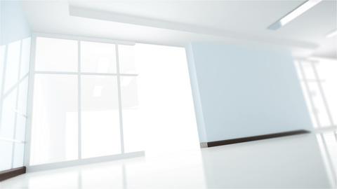 Office interior creation Stock Video Footage