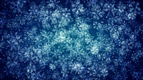 Snowflakes background Stock Video Footage