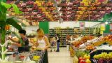 Food Market, Timelapse stock footage