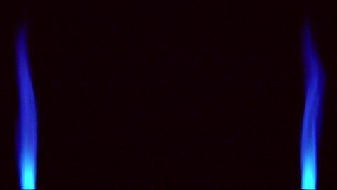 10638 vertical gas flame background loop Stock Video Footage