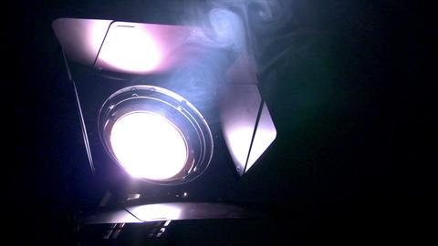 10640 spotlight switch off Stock Video Footage