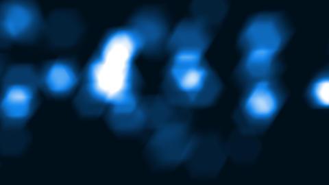 blue sparkles closeup Stock Video Footage