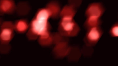 red sparkles close up Stock Video Footage