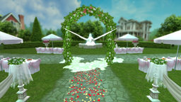 Wedding Chapel Animation