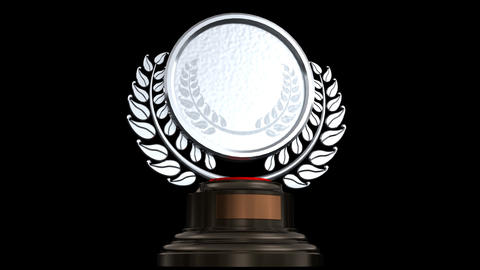 Medal Prize Trophy 02a HD Stock Video Footage