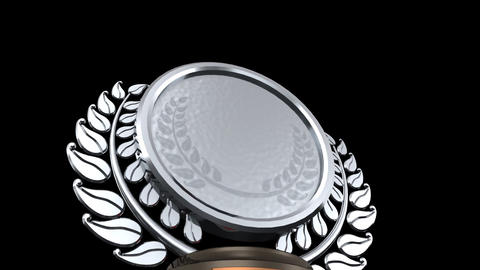 Medal Prize Trophy D HD CG動画