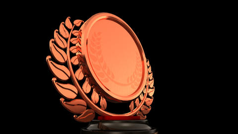 Medal Prize Trophy E HD Stock Video Footage