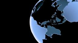 Globe Loop Rotation Animation