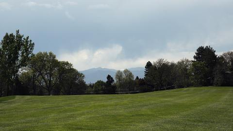 (Timelapse) Golf Fairway Cart Pullup Footage